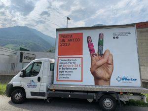 Camion Vela BlueMeta - Pubbliarea