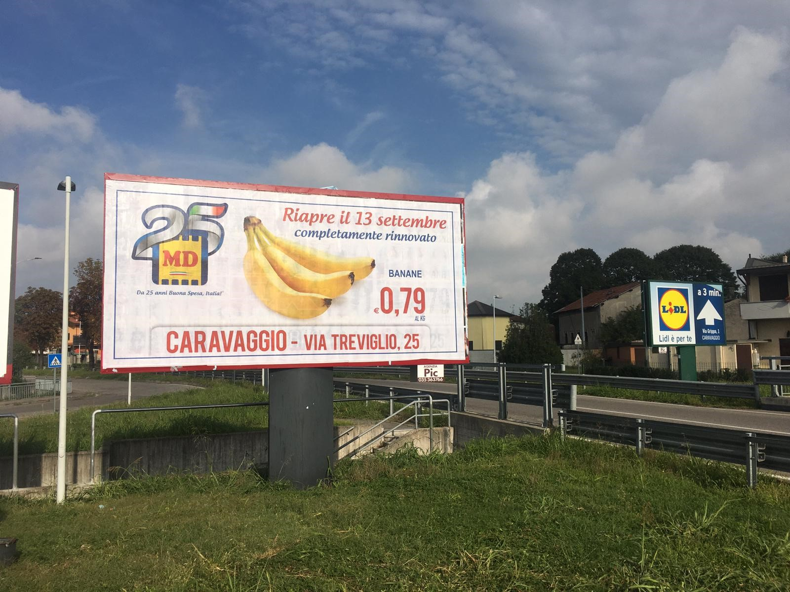 Affissione MD Caravaggio - Pubbliarea