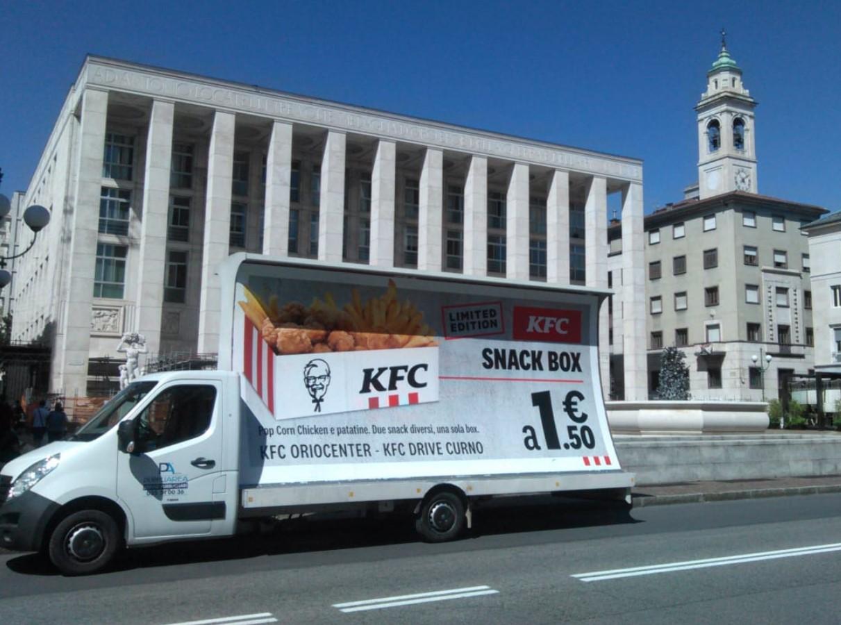 Camion Vela Kfc - Pubbliarea