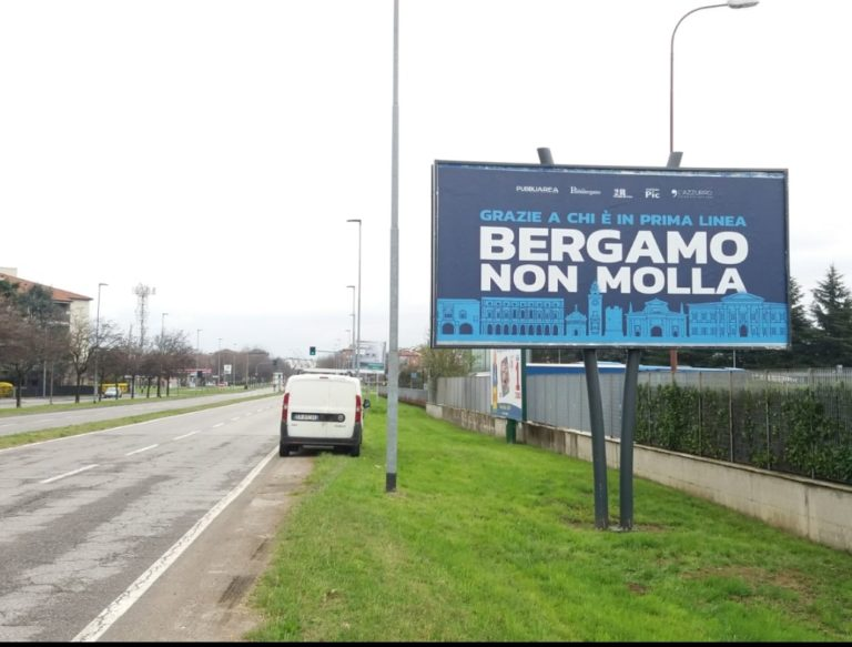 Bergamo non molla - Pubbliarea